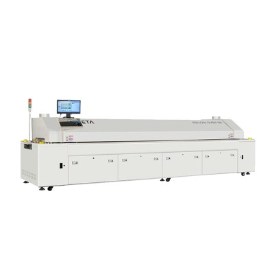 Hot Air Reflow Soldering Oven with 10 Zones